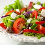 greek-salad-with-bread